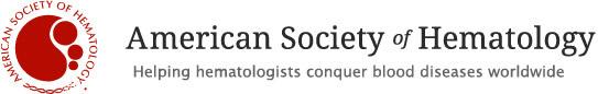 ASH   American Society of Hematology - logo